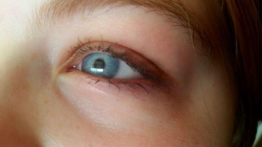 Hi! Blue Eyes Beautiful Girl