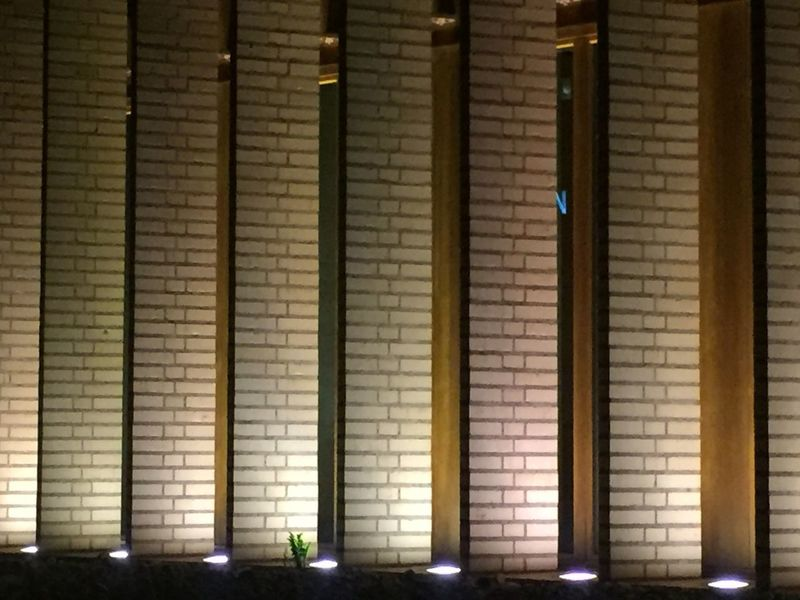House of parliament Illuminated Architecture Stone lihgt Vaduz