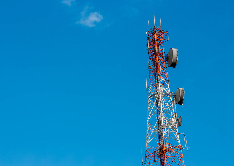 Antenna - Aerial Broadcasting Clear Sky Communication Connection Global Communications Internet Metal Sky Technology Telecommunications Equipment Television Industry Tower Wireless Technology
