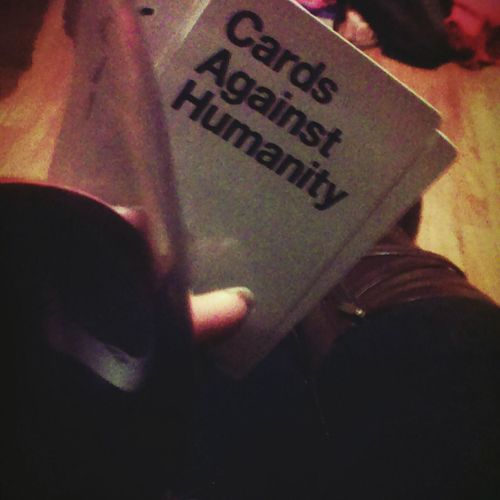 Game night! Friday Night Gamenight Redwine Funwithfriends Cardsagainsthumanity