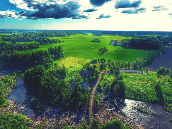 Aerial View Beauty In Nature Lieto Nautelankoski Flying High