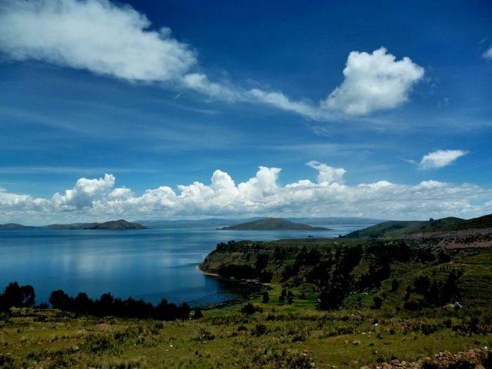 Lago Titicaca.