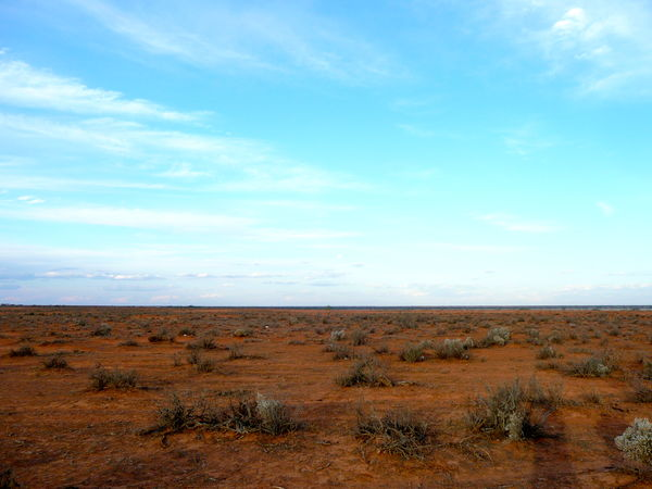 Beauty In Nature Cloud - Sky Day Field Grass Horizon Over Land Landscape Nature No People Outdoors Red Earth County Red Earth Landscape Scenics Semi Desert Sky Tranquil Scene Tranquility