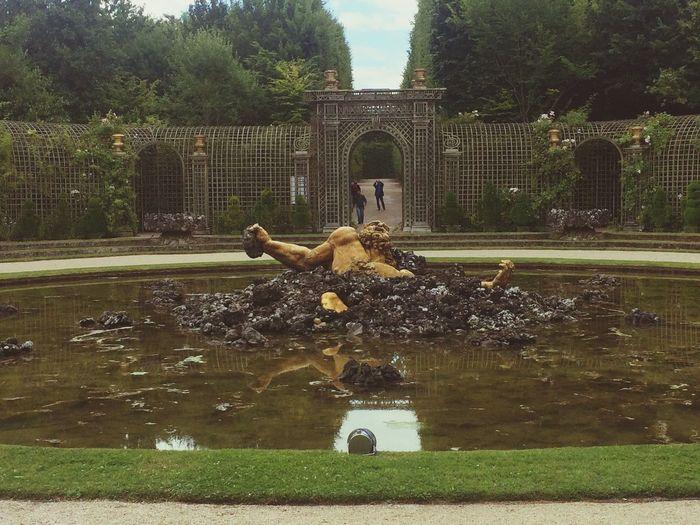 Le bosquet de l'Encelade Versailles Château