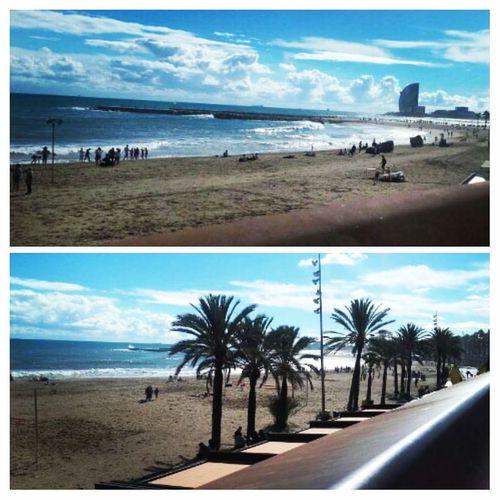 Barcelona, Spain Playa Beach Sol Sun Sole Soleil  Relaxing Time