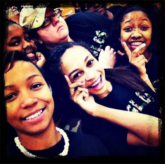 Me and my babies today at are game!!