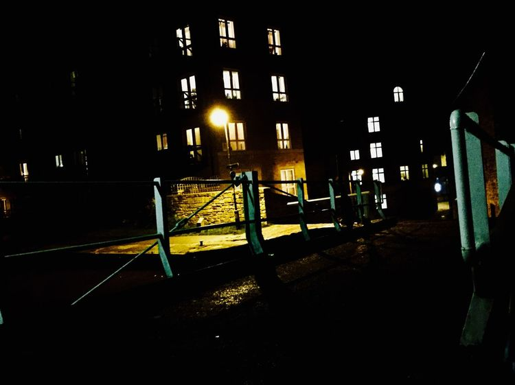 Night Outdoors Building Exterior Dark Streetphotography EyeEm Gallery Canal No People Peace And Quiet Countryside