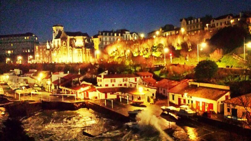 Biarritz Port Night