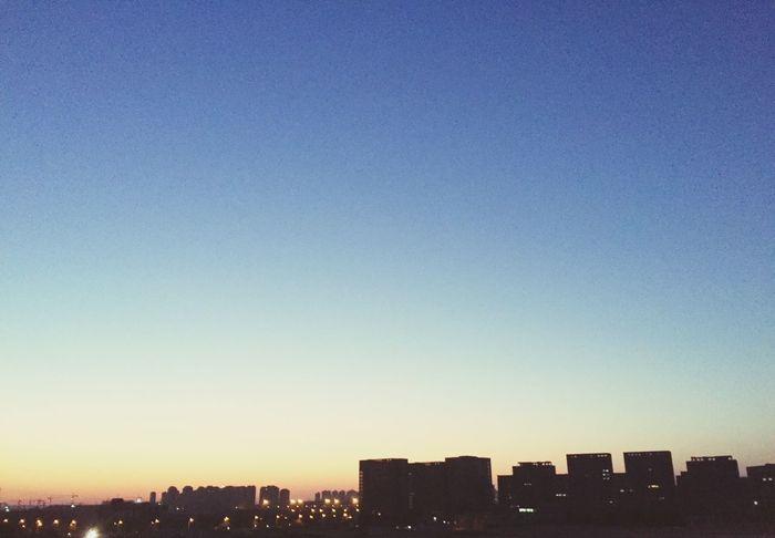 宿舍朝西🌉 Sunset #sun #clouds #skylovers #sky #nature #beautifulinnature #naturalbeauty #photography #landscape