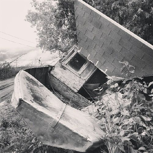 Alaska Flooddestruction Galena Boathouse