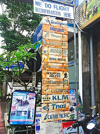The Great Outdoors With Adobe Seen In The City Ubud, Bali Ubudbali Travel Agency Airlines Airline Industry Fluggesellschaften Verrostet Rusty Rusted Schilder Advertising Signs Signs Reklametafel My Favorite Photo Memory Of Travel Memory People Of The Oceans Feel The Journey Original Experiences On The Way Adventure Club An Eye For Travel Adventures In The City