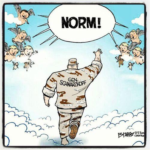 Love this! Rip StorminNorman Desertstorm General Schwarzkopf
