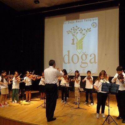 Heyecan dorukta Keman Festivali Violin Acarkent Doğa Koleji DoğaKoleji Gfarukunal BeykozDoğa