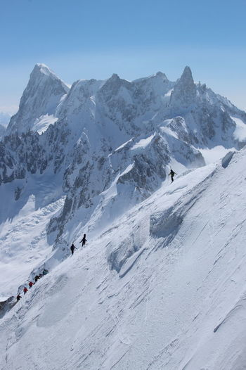 Scenic View Of Mont Blanc