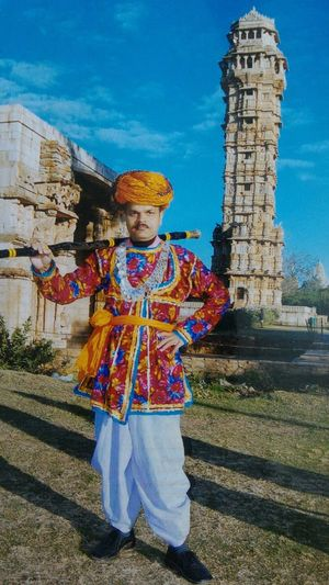 Traditional Clothing Rajasthani Culture Chittorgarh Fort Real People EyeEm Selects