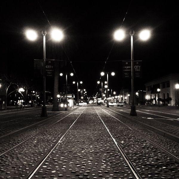 Embarcadero Waterfront Embarcadero Waterfront F Line Blackandwhite Black & White USAtrip Carlifornia Night Photography San Francisco F Line Night Lights City Impressions Night View Nightphotography USA