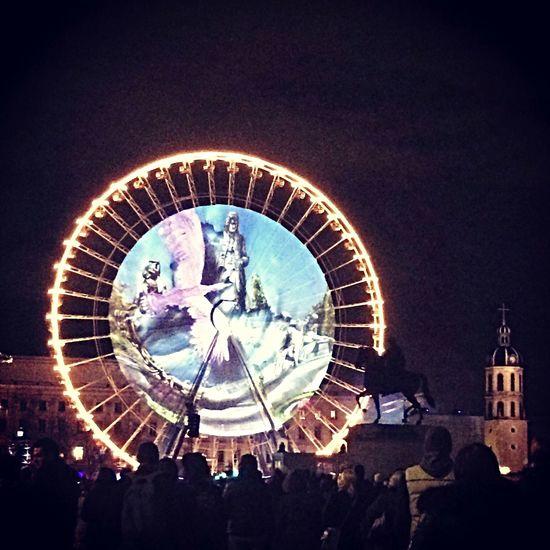 Fete Des Lumieres Lyon Bellecour Fdl2014 Light Night Lights