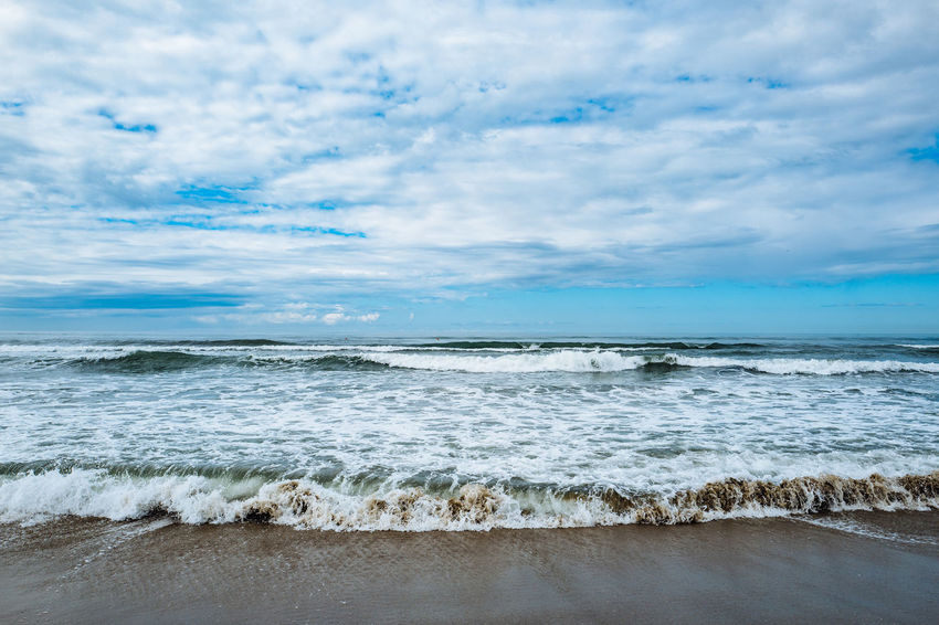 Camaiore Tuscany Beach Beauty In Nature Blue Cloud - Sky Day Horizon Over Water Italy Nature No People Outdoors Sand Scenics Sea Sky Tranquil Scene Tranquility Water Wave