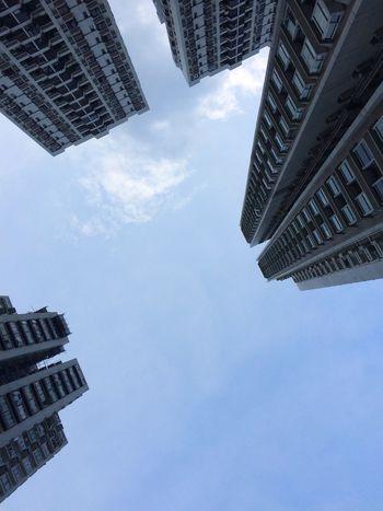 Urban Building Sky Look Up The Sky Tall Buildings