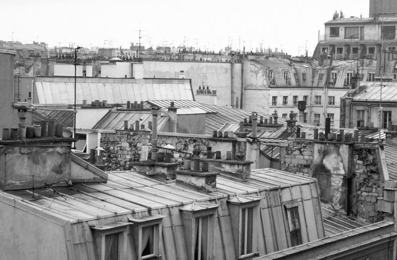 View over the roofs of paris. Building Exterior Architecture Built Structure Town Outdoors Residential Building City Roof Cityscape Day Sky Monochrome Monochrome Photography Blackandwhite Black And White Black & White Tranquil Scene Streetphotography Black&white Black And White Photography Blackandwhite Photography Cityscapes Paris Paris Je T Aime Sky And Clouds