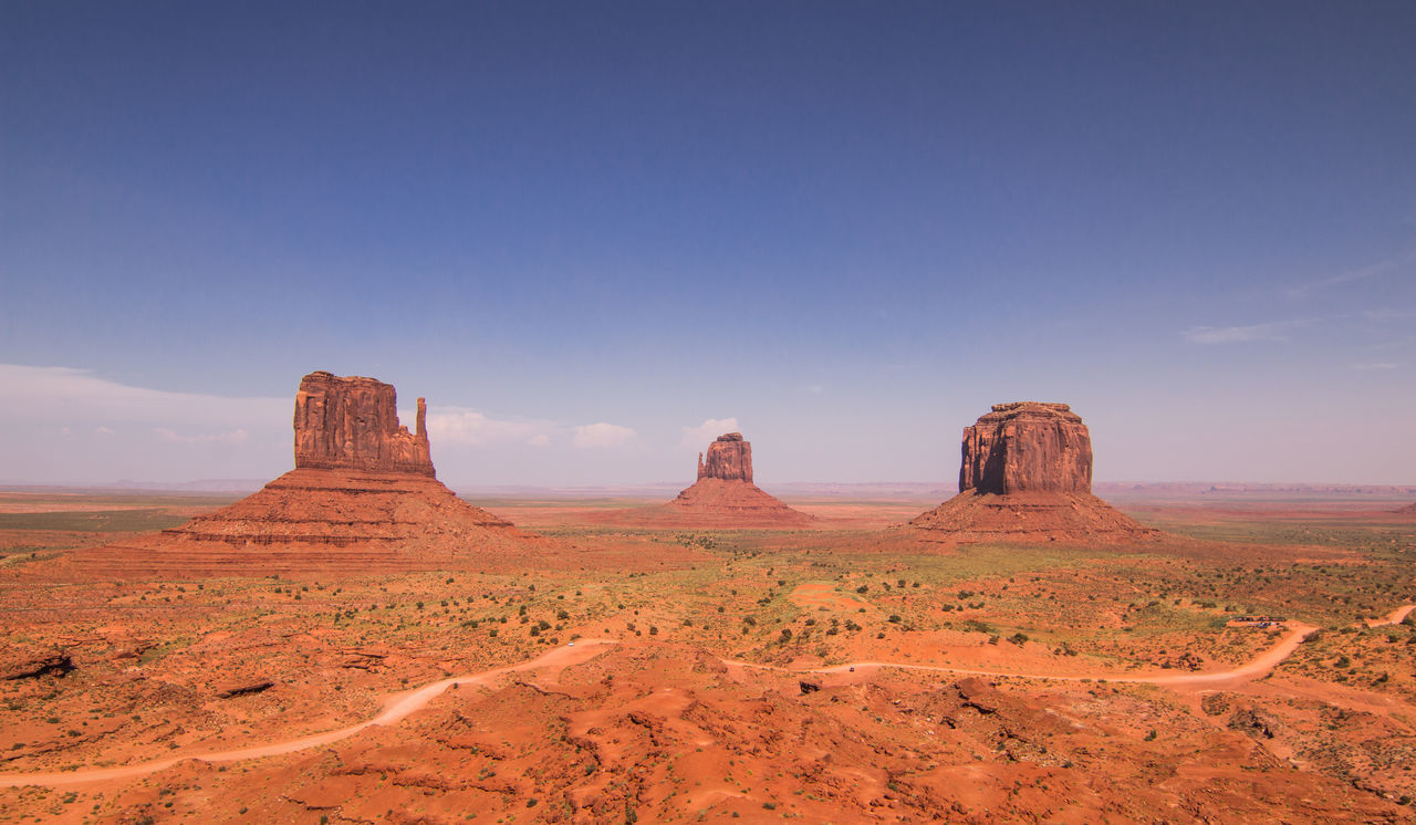 nature, landscape, beauty in nature, tranquil scene, geology, tranquility, rock - object, arid climate, desert, scenics, no people, outdoors, physical geography, day, sky
