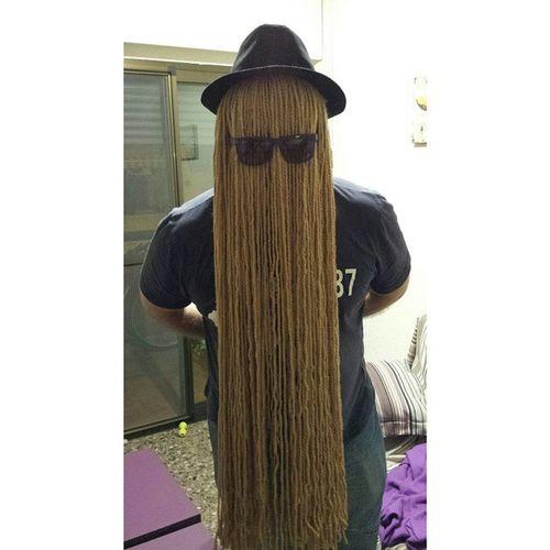 Halloween y yo con estos pelos