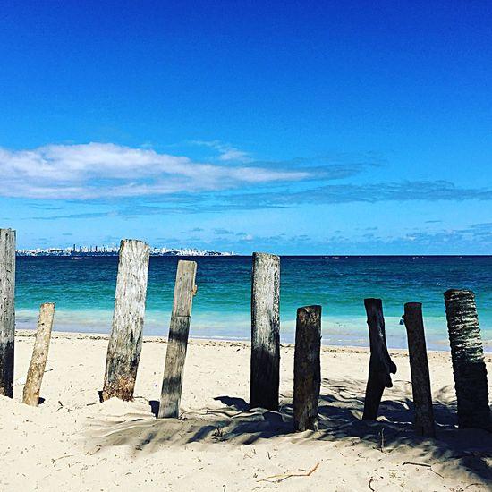 Salvador Bahia Paradise Beach Blue Sky Itaparica