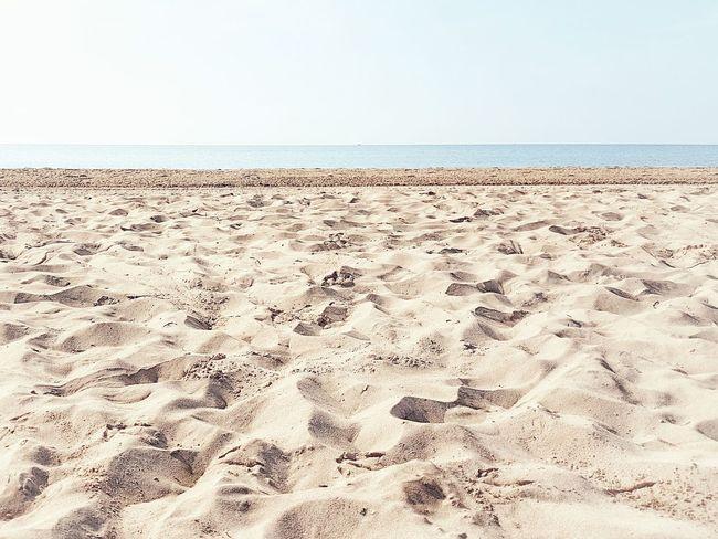 | Tranquility | Tranquility Bibione Pineda EyeEmItaly Sea Clear Sky Sand Dune Beach Water Sand Sky Horizon Over Water Landscape Sandy Beach FootPrint Seascape Shore Calm