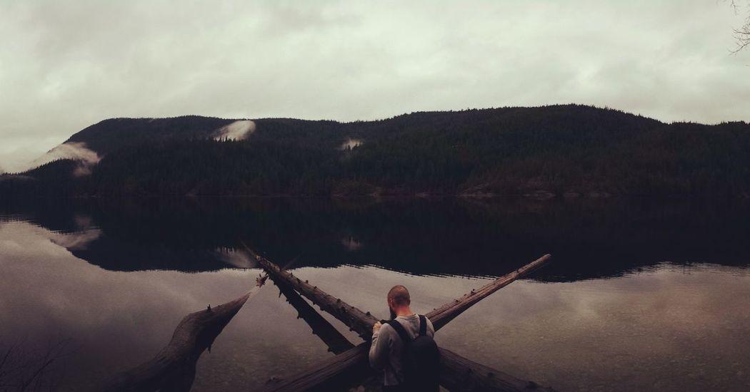 🙅 Panorama Panoramic Panoramic View Lake Buntzen Lake British Columbia Growth X Marks The Spot