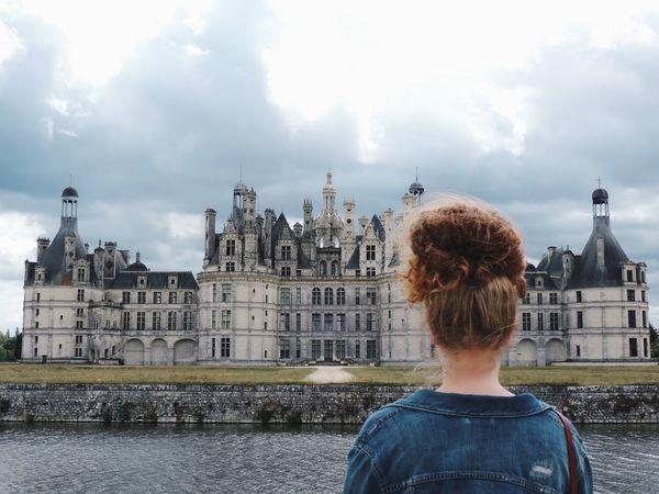 Self Portrait Around The World Chambord Chateau De Chambord Loire Sister