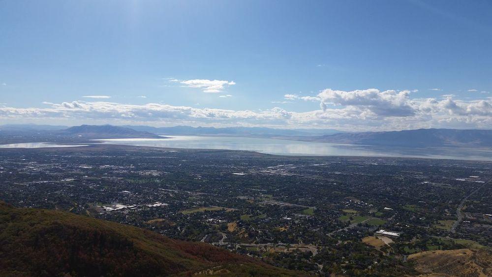 Squawpeak Orem, Utah Utah Landscape Utah Lake Beauty In Nature Water Blue Landscape