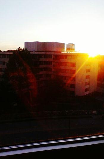 Apartment at sunset First Eyeem Photo