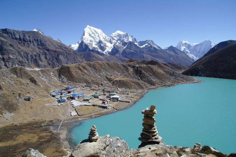 Landscapes With WhiteWall Nepal Gokyo Lake Gokyo Sea Trekking In Nepal Landscape_Collection Details Of My Life For You ;-) The KIOMI Collection