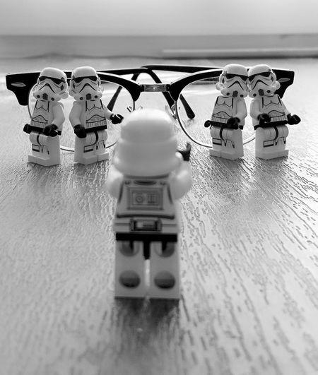 Black & White Star Wars LEGO Clubmaster