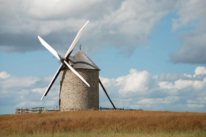 Agriculture Alternative Energy Fondi Fotografia Grano Traditional Windmill Wind Power Windmill Sfondi Nature Photography Lavoro Potography Cielo Azzurro Sfondodeldesktop Nature Fine Art Pa Bu