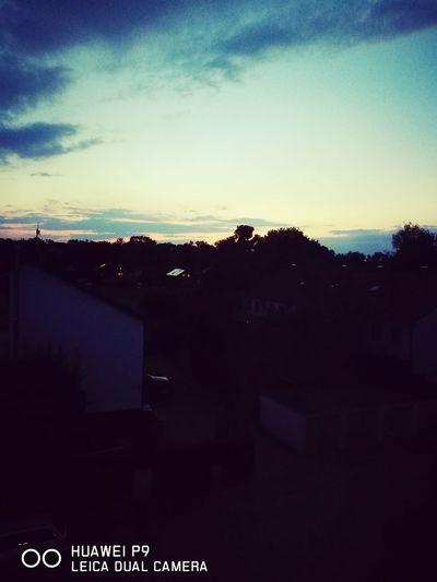 Sonnenuntergang in Kolbermoor First Eyeem Photo