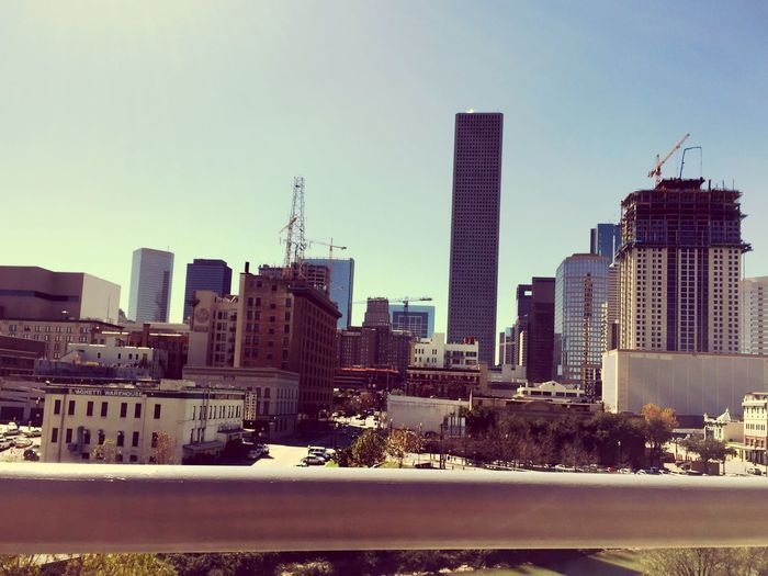 Houston Texas Downtown Houston UHD Academic Building My View This Morning..