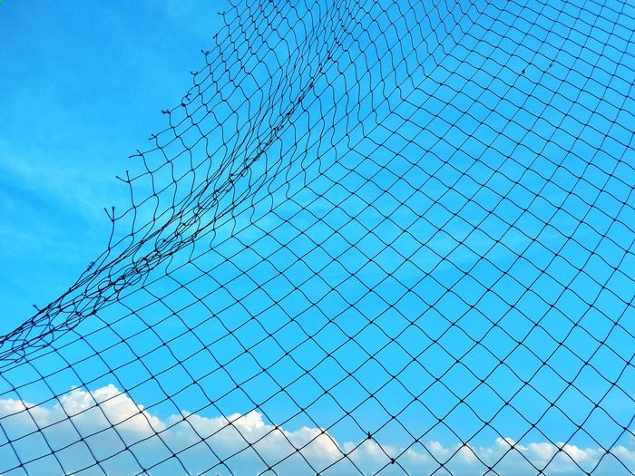 View Photography View Sky View Blue Sky Net And Sky Blue Sky