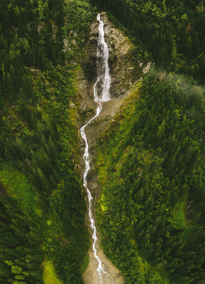 Waterfall Drone  Panorama Beauty In Nature Day Environment Falling Water Flowing Flowing Water Forest Green Color Land Long Exposure Motion Nature No People Outdoors Plant Rainforest Rock Scenics - Nature Travel Destinations Tree Wasserfall Water Waterfall