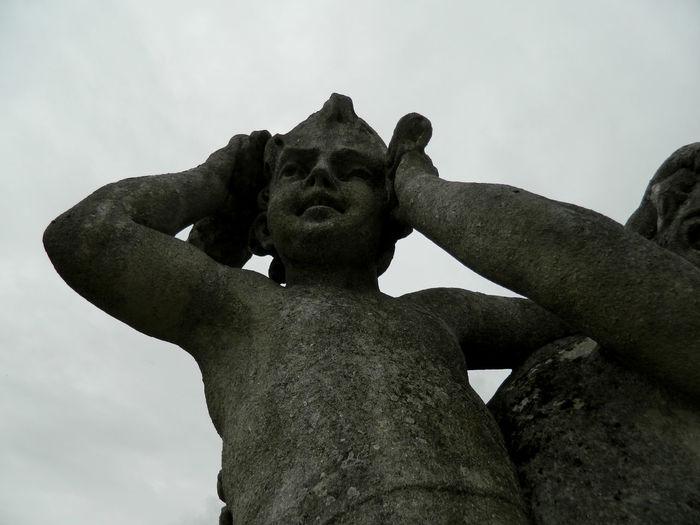 #castle  #cloudy #czechrepublic #face #sculpture #travel #up