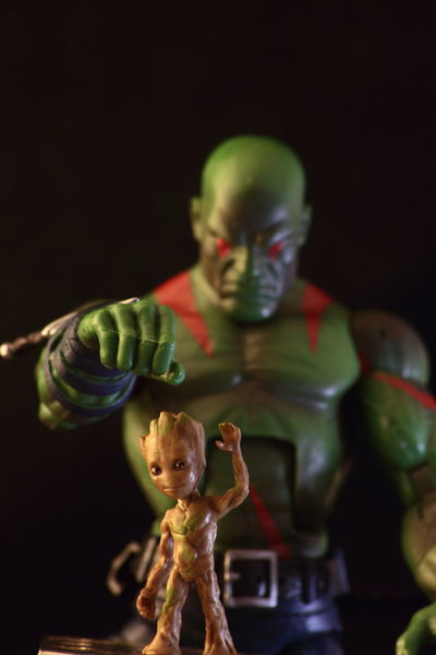 Drax still doesn't understand this little twig fellow. Black Background Toy Photography Actionfigure Actionfigurephotography Action Figures Toyphotography Toys Marvel Legends Marvelmovies Marvelactionfigure Marvellegendscollector Groot IamGroot Babygroot Drax Draxthedestroyer GotG GUARDIANSOFTHEGALAXY Comics Comicbooks Marvel Comics Close-up Fun