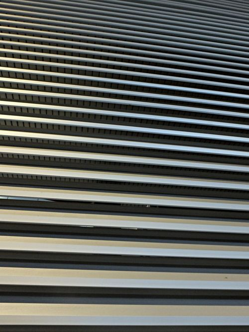 Abstract Architecture Backgrounds Building Exterior Built Structure Close-up Corrugated Corrugated Iron Day Degree Full Frame Horizontal Lines Metal Minimalist No People Outdoors Pattern Perspective Shutter Symmetry Textured  Vertical