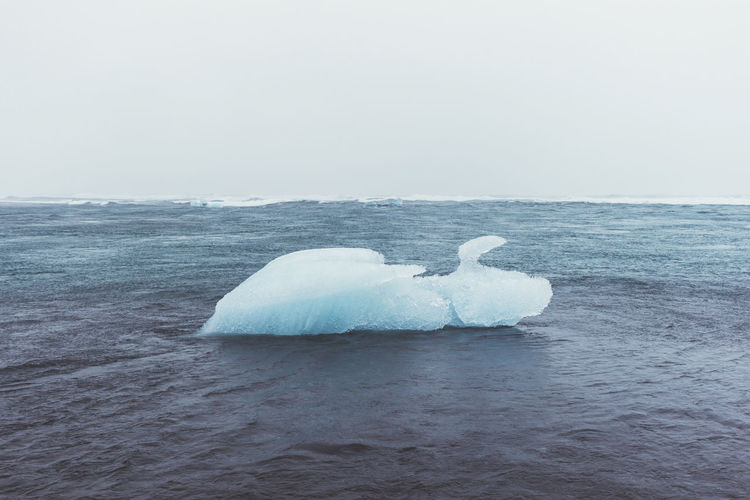 Day Floating On Water Ice Iceberg Iceland Lagoon Landscape Landscape_photography Nature No People Outdoor Photography Outdoors Sea Sky
