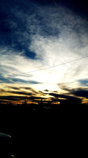 Cloud - Sky Sky Dramatic Sky Outdoors No People Beauty In Nature Sunset Nature Day