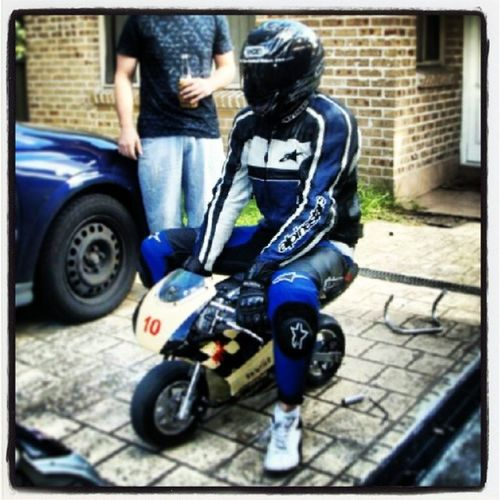 Racebike Minimoto Racesuitup