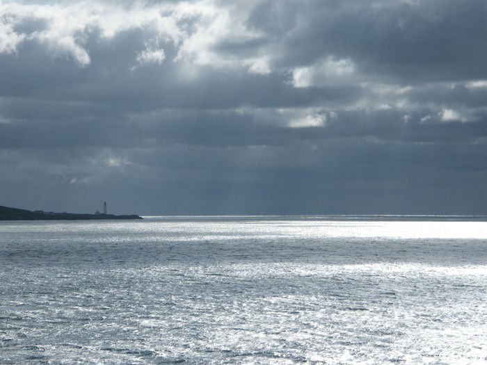 Beauty In Nature Cloud - Sky Cold Temperature Day Horizon Over Water Irish Sea Nature No People Outdoors Scenics Sea Sea Voyage Ship At Sea Sky Storm Cloud Tranquil Scene Tranquility Water Weather Winter