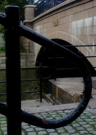 Throght Fences Old Bridge My View Oslostreets I💟oslo