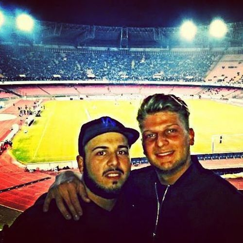 Stadium with my brooo🔝🔝🔝🔝 Stadium Me Bro Top Pipita Gonzalo Napolipalermo2a0 Higuain Mertens Firzanapoli Maisolo