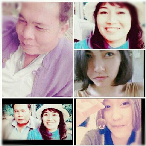ครอบครัวพ่อ แม่ ฉัน น้อง @pamangle@budsayaputar