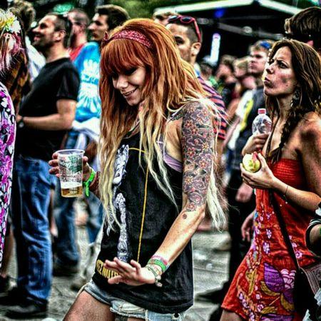 Color Explosion Canon Music Festival Dance ❤